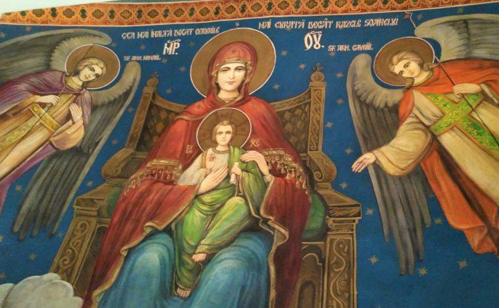 Minunea Preasfintei Născătoare de Dumnezeu împotriva măscăriciului Gaian care a hulit-o la teatru