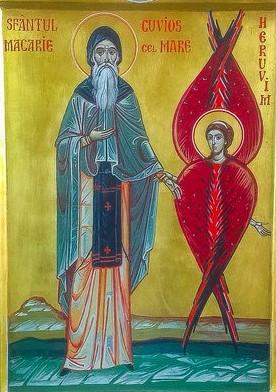 Descoperire făcută de Îngerul Domnului Sfântului Macarie