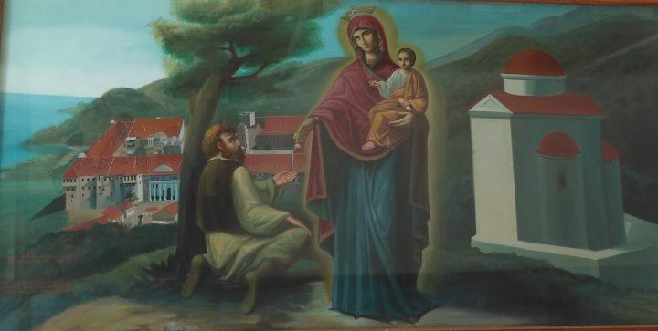 Maica Domnului si saracul de la Iviru