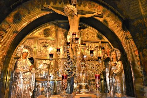 Altarul de pe Golgota